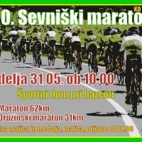 20. Sevniški maraton 31.05. ob 10.00