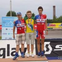 Gaber Vandur dvakratni prvak na velodromu