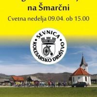 Blagoslov kolesarjev na Šmarčni, Cvetna nedelja 09.04. ob 15h
