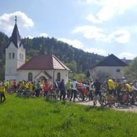 150 kolesarsk in kolesarjev vseh generacij na blagoslovu na Šmarčni