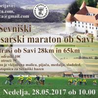 22. Sevniški maraton 2017, nedelja 28.05. ob 10.00