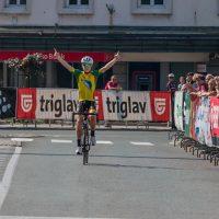 Vandur zmagal na najpomembnejši dirki kolesarskega praznika na Gorenjskem