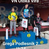 Uspešen začetek sezone mladih Taninovcev, Podlesnik drugi, smola Trotovška na prvem reprezentančnem nastopu