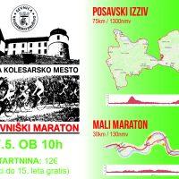 Razpis: 24. Sevniški kolesarski Maraton (prijave glej zgoraj)