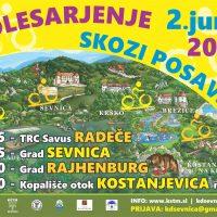 Razpis: Izlet s kolesom skozi Posavje 02.06.2018 ( prijave glej zgoraj )