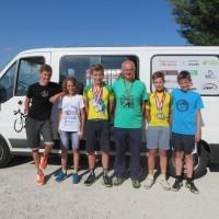 Taninovci osvojili dva naslova in osem medalj na državnem prvenstvu na velodromu
