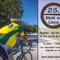 """25. """"Skok na Lisco"""" , nedelja 28.08. ob 10.00"""