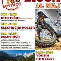 Kolofest Lisca, 11.05.2019 ( MTB tečaji in vodena panoramska vožnja)